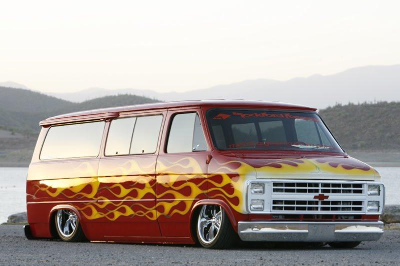 Brock Chobar 1987 Chevy Chevrolet Van Custom Truckin