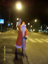 Joulupukkipalvelun joulupukki Hervannassa