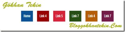 Rengarenk Blogger Menüsü