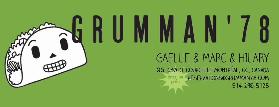 Grumman 78 - Gaelle &amp; Marc &amp; Hilary