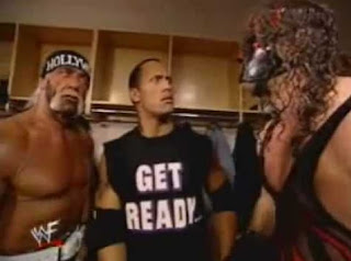 funny picture of hulk hogan, kane and rock