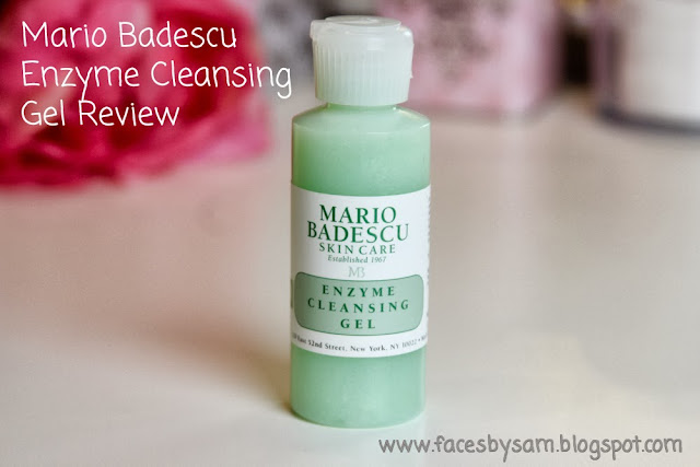 Mario Badescu Enzyme Cleansing Gel Review
