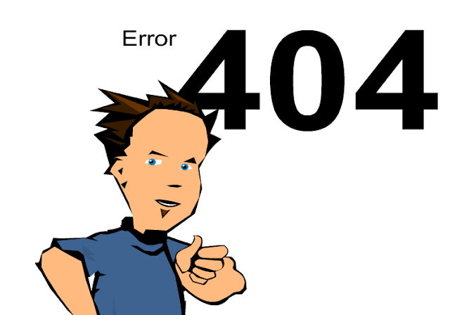 Custom 404 Error page Blogger