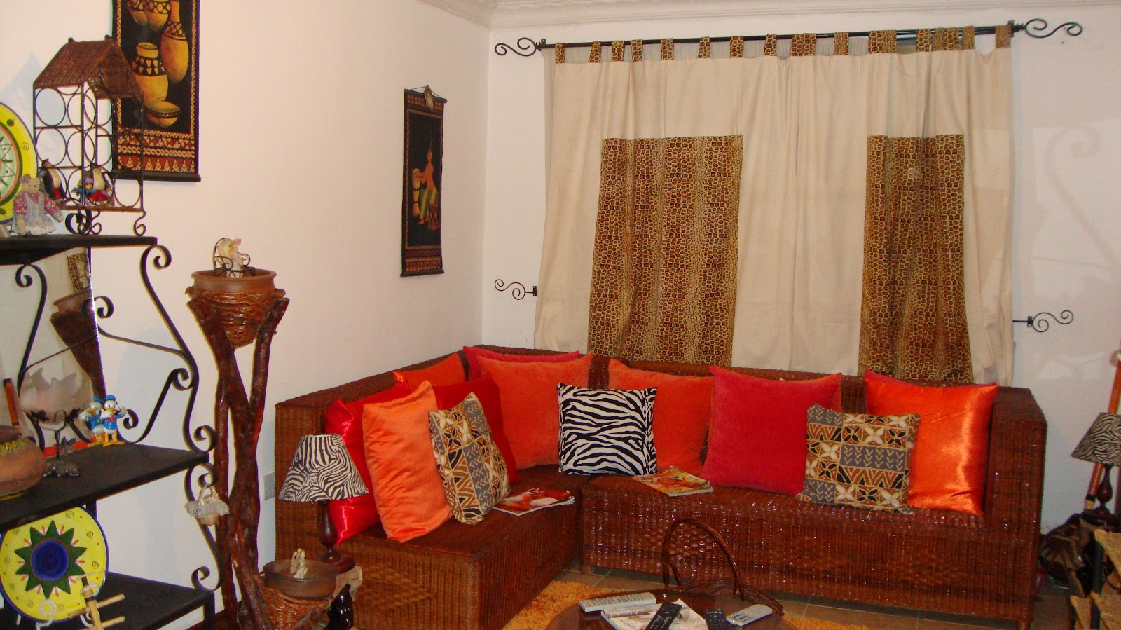 Home Decorations Different Motif African Decor