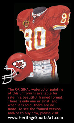 Kansas City Chiefs 1999 uniform