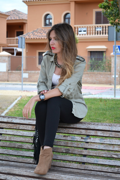 Outfits Con Botines Color Camel