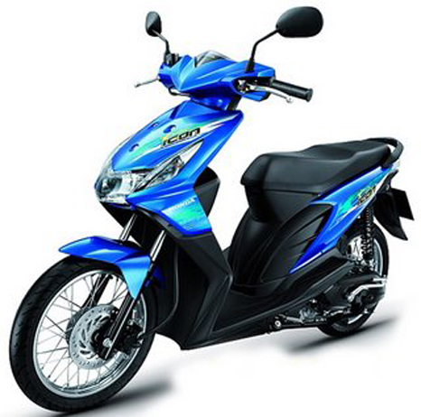 Interesting Small Motorcycle Honda BeAT