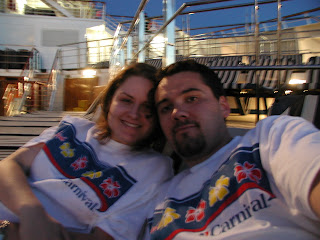 honeymoon on carnival cruise ship