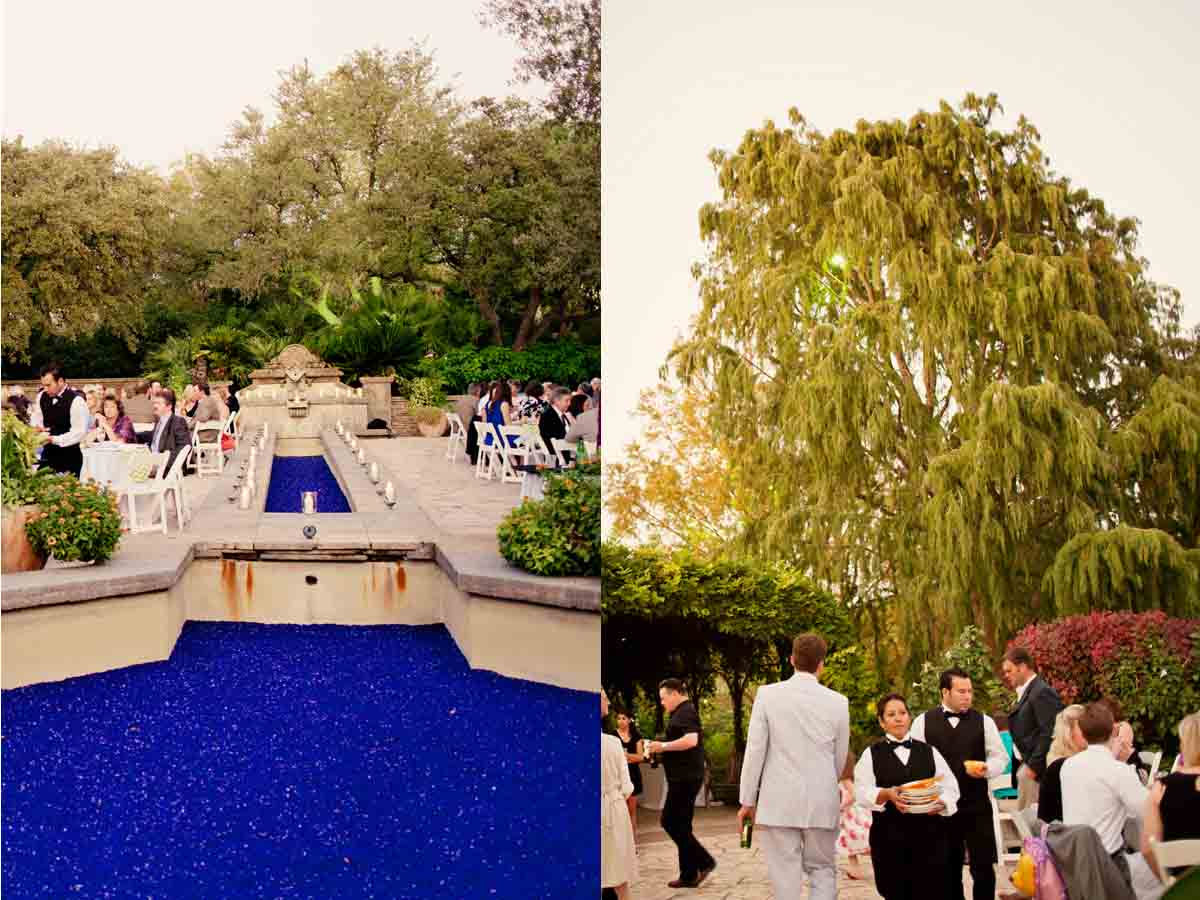 Lori amp nathan s colorful floral san antonio botanical garden wedding