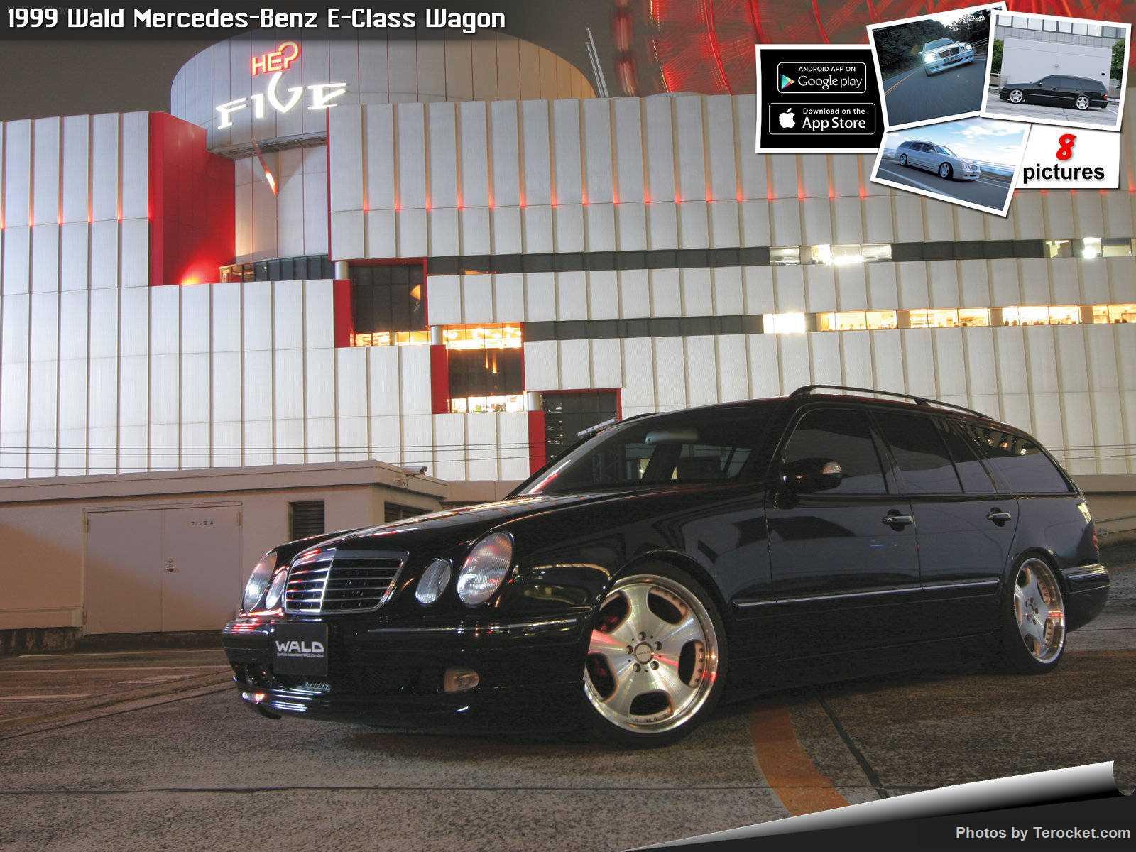 Hình ảnh xe độ Wald Mercedes-Benz E-Class Wagon 1999 & nội ngoại thất