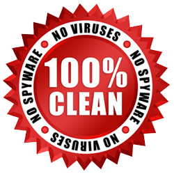 100% CLEAN AND NO VIRUSES