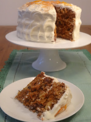 Luxurious Carrot Cake with Pineapple and Sultanas