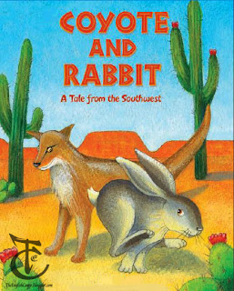 Coyote And Rabbit the tale from southwest
