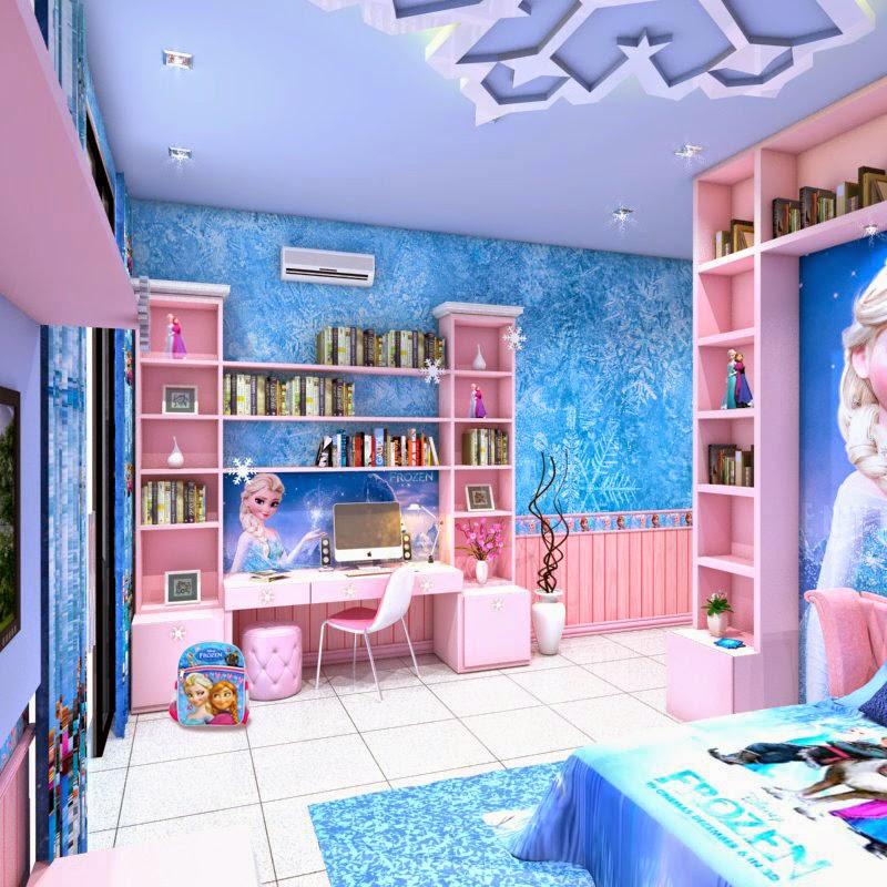Rani fara yunia frozen bedroom for Room decor 4u
