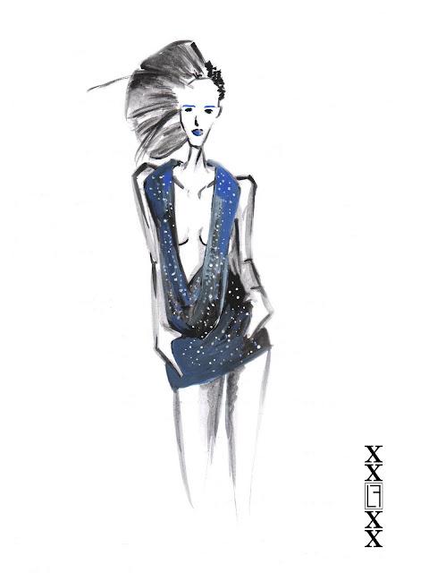 Sara Nuru dress: concept design