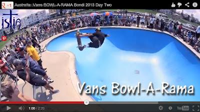 Vans, Australia, Bowl-A-Rama  2013