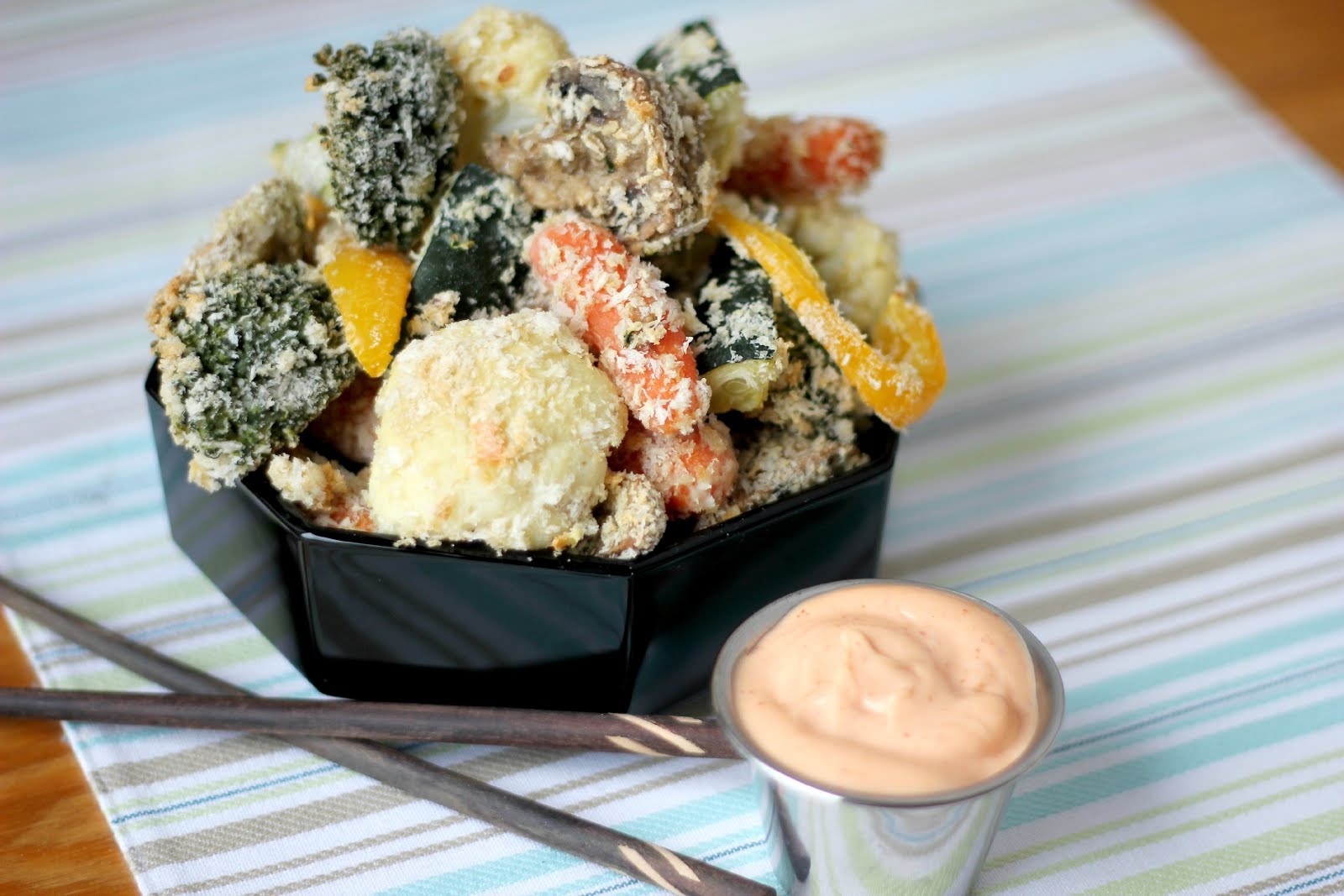 Easy Baked Tempura Veggies