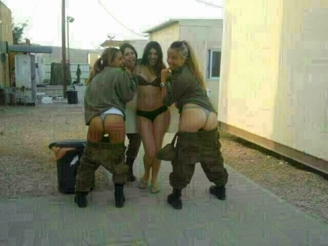 Israeli women soldiers underwear