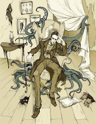 H.P. Lovecraft by *AbigailLarson