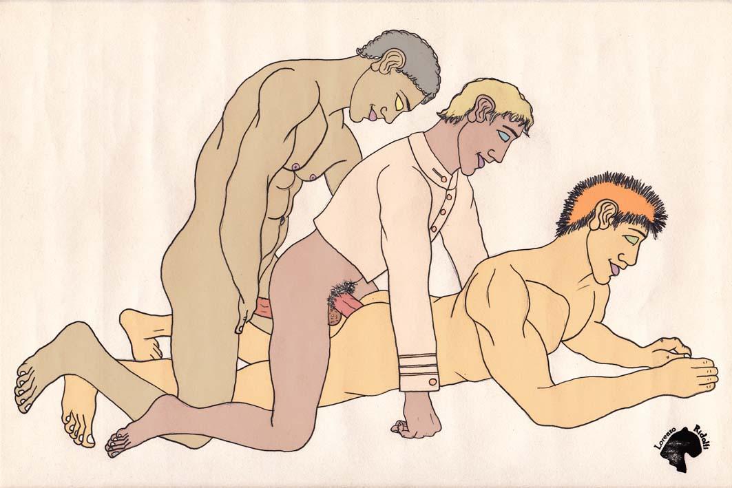 Древнее Гей Порно