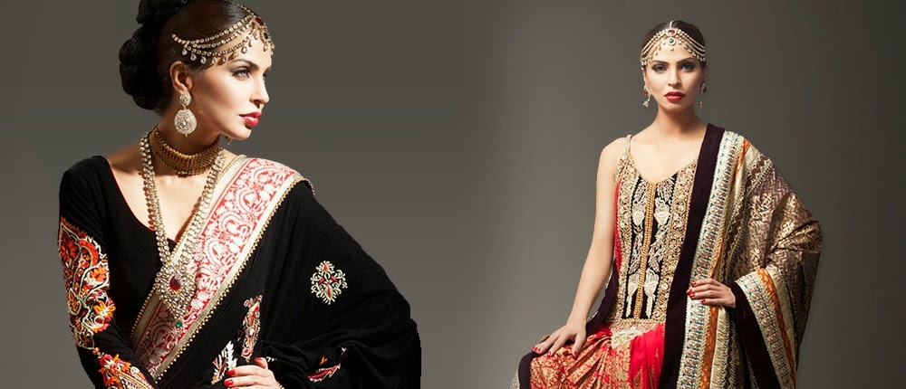 Deepak Perwani Bridal Dress Collection 2014