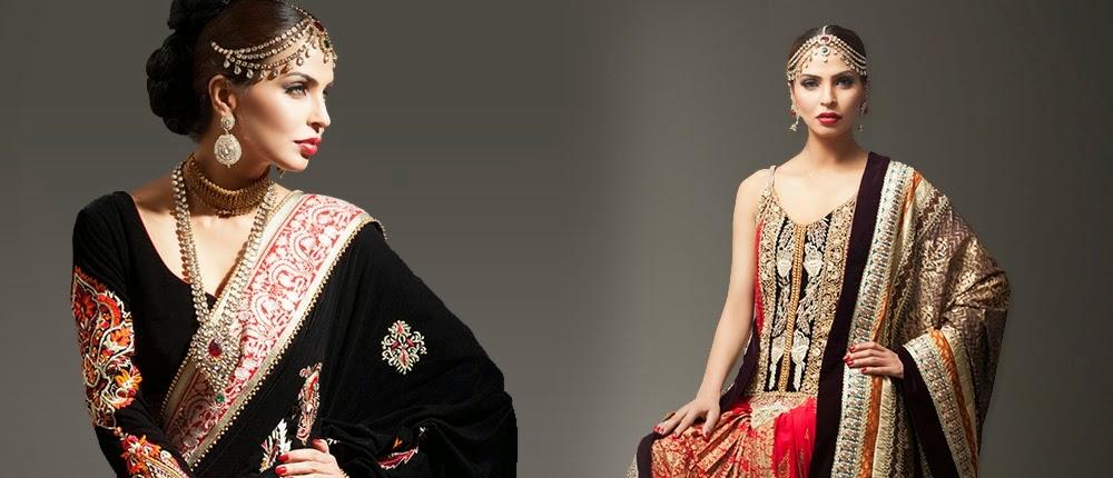 Deepak Perwani Bridal Dress Collection 2014
