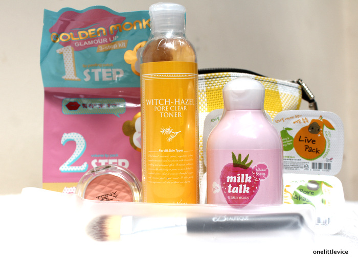 one little vice beauty box: asian beauty subscription service