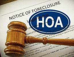 Notice of Foreclosure, HOA, Gavel