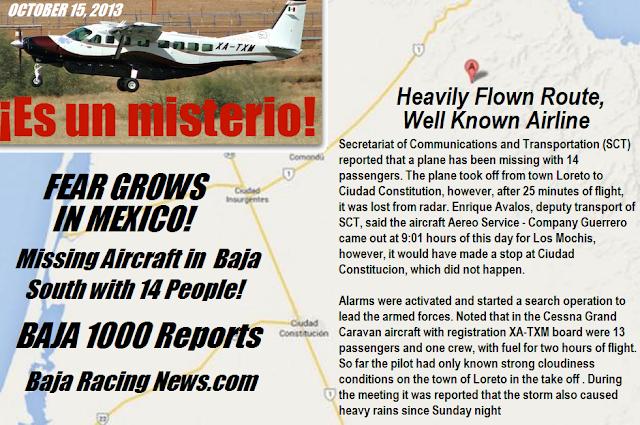 Baja 1000 2014 Map