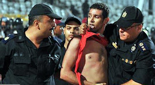 funny picture police arrest protester