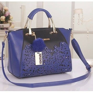 BALENCIAGA BAG – BLUE