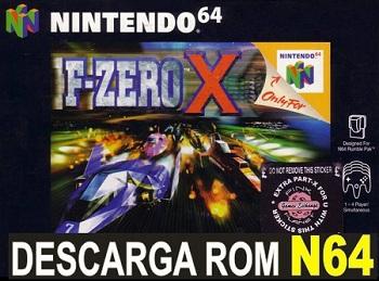 F-Zero X 64 ROMs Nintendo64