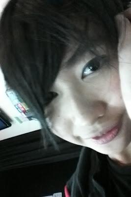 Ghaida foto premium content JKT48 clock