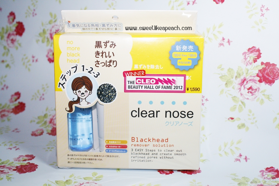 clear nose blackhead remover