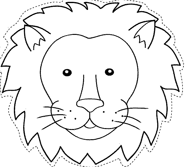 Animales salvajes de África Dibujos para colorear - fotos de animales salvajes para imprimir