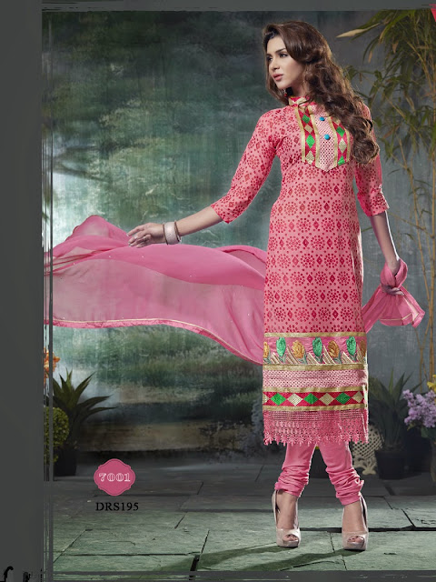 Buy Exclusive Cotton Brasso Dress Material | Wholesale Supplier