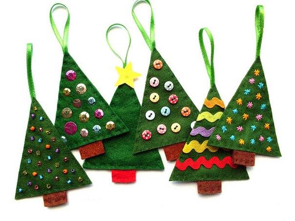 Новогодние игрушки для елки своими руками 2015