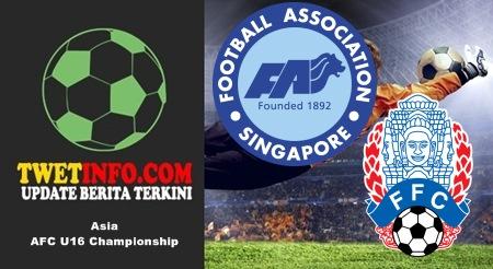 Prediksi Singapore U16 vs Cambodia U16, AFC U16 06-09-2015
