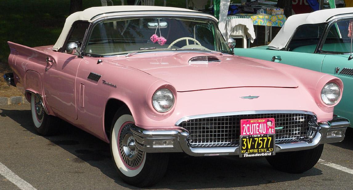 how old is a classic car: 1957 Thunderbird