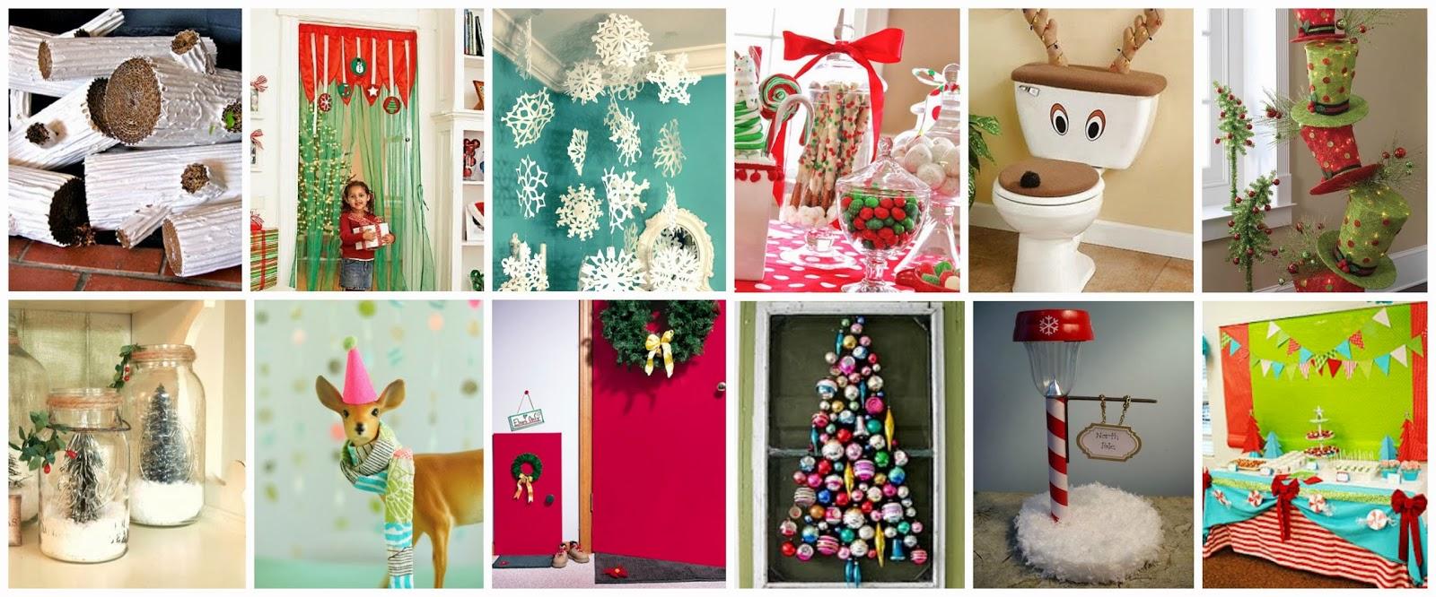 Recursos ideas para decorar y preparar el aula para for Decoracion de aula para navidad