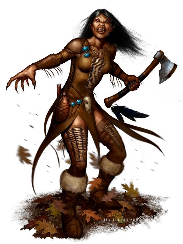 Dungeons Deep & Caverns Old : Revised Skinwalker