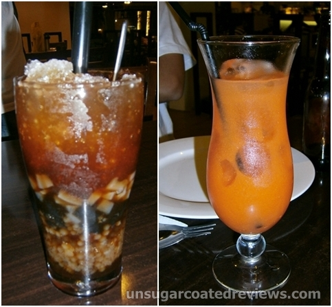 Sago Gulaman and Four Seasons at Packo's Grill