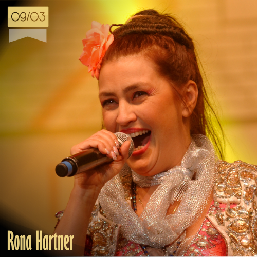 9 de marzo | Rona Hartner - @RONAHARTNER | Info + vídeos