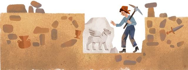 Biodata Profil Halet Cambel Arkeolog Dan Pemain Anggar Wanita Turki,Hari ini Google Doodle Rayakan ULTAH Ke 99 Dia Bagaimana Biografi Hidup Dia ?