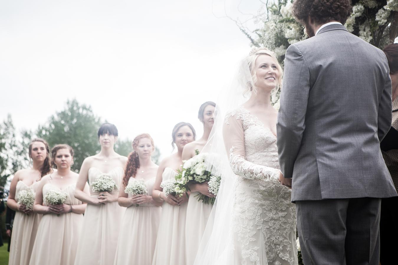 white wedding / photography Braden Tenney