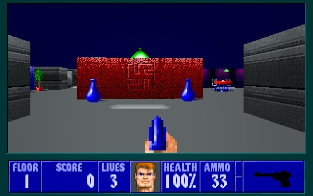 The wolfenstein 3d blog review dhw lost episodes set for Floor 5 boss map