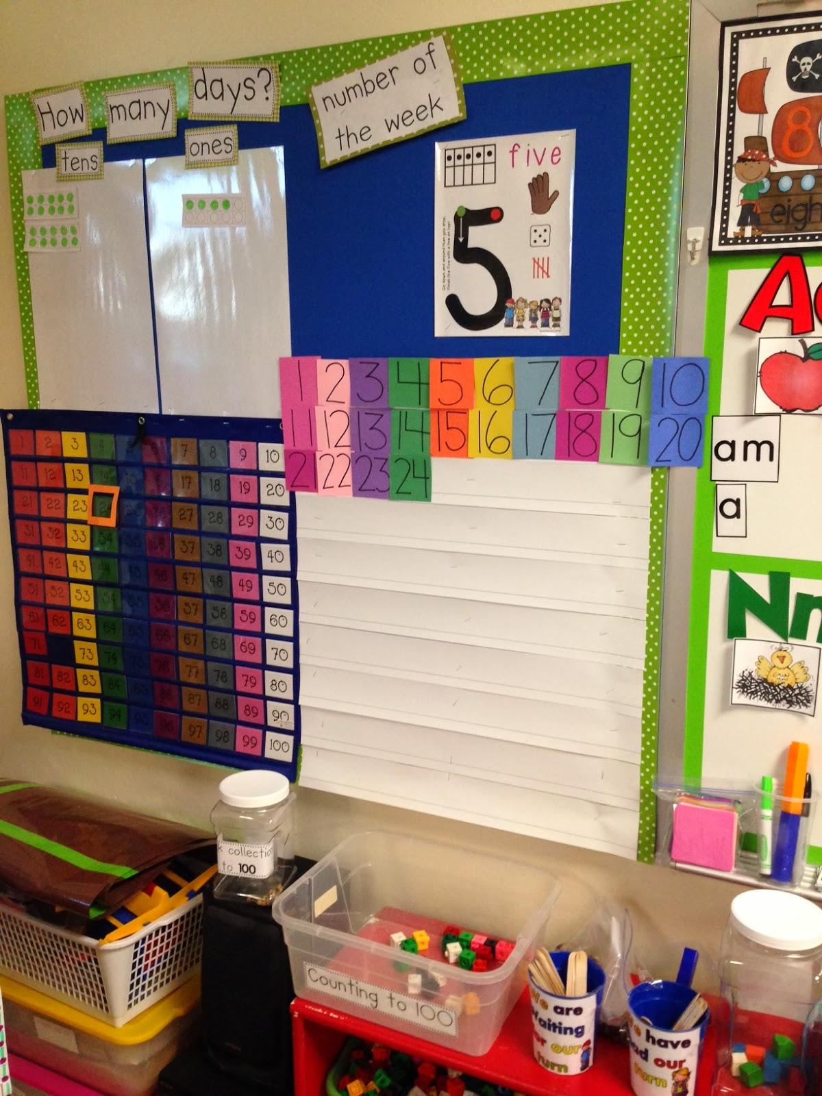 Kindergarten Calendar Math Routine : Chalk talk a kindergarten daily math routines board