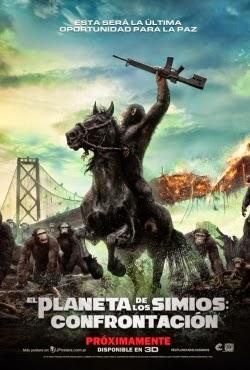 Ver Pelicula - El Planeta de los Simios: Confrontacion |  El amanecer del Planeta de los Simios - 2014
