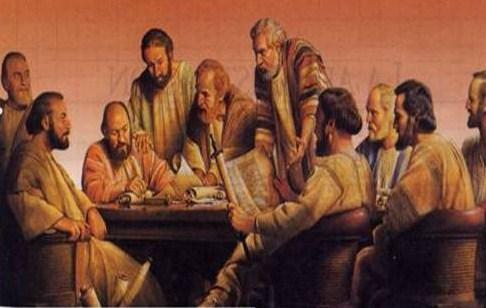 Resultado de imagen de Apóstoles reunidos