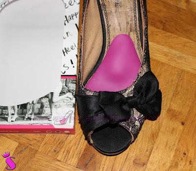 Kinky-Ped ® im Schuh platziert